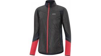 GORE R5 Partial Gore-Tex Infinium Soft Lined Langarmshirt Damen Gr. S (36) black/hibiscus pink