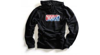 100% Classic Kapuzen shirt Hoody black