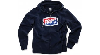 100% Official hoodie jacket Zip Hoody black