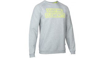 ION Surfing Elements Sweater heren-Sweater Sweat shirt grey melange
