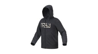 iXS Brand 6.1 Hoody felpa zip con cappuccio .