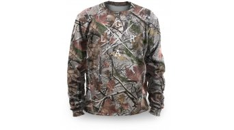 Loose Riders Foliage Camo Fleece Pullover Herren brown/grey
