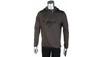 Maloja CraterM. Fleece sweat à capuche hommes-sweat à capuche Hoodie taille M charcoal