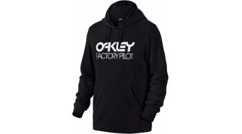 Oakley Factory Pilot DWR felpa da uomo con cappuccio Hoodie mis. M jet black (Regular Fit)