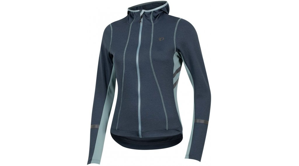 Pearl Izumi Elite Escape Thermal Fleece Kapuzen-Sweatshirt Damen Gr. M midnight navy/arctic