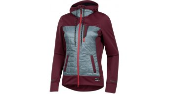 Pearl Izumi Versa Quilted Kapuzen-Sweat shirt ladies port/arctic