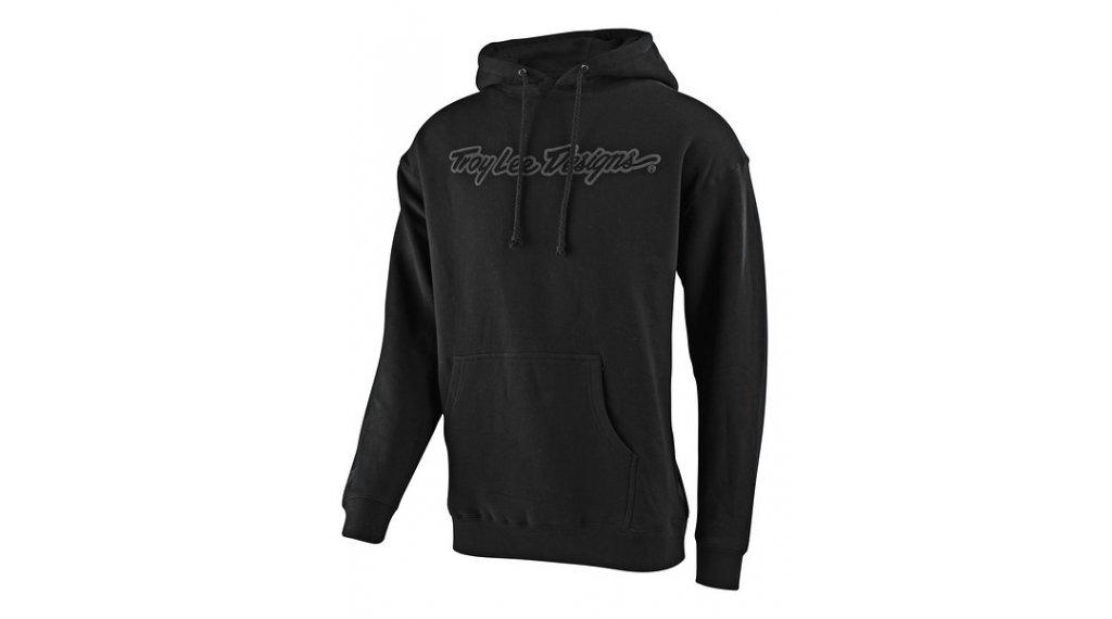 Troy Lee Designs Signature Kapuzenpullover Herren Gr. SM (S) black