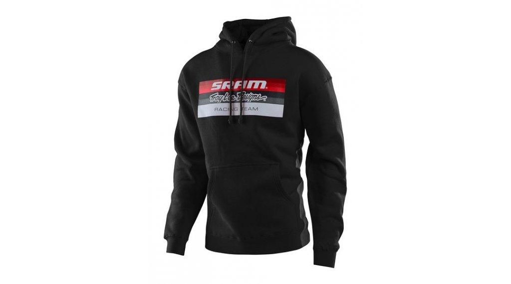 Troy Lee Designs SRAM Racing 连帽套头衫 男士 型号 SM (S) block black