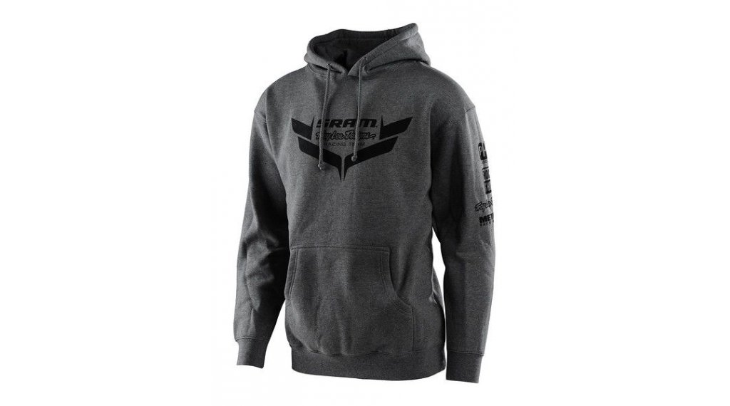 Troy Lee Designs Sram Racing Kapuzenpullover Herren Gr. MD (M) icon charcoal
