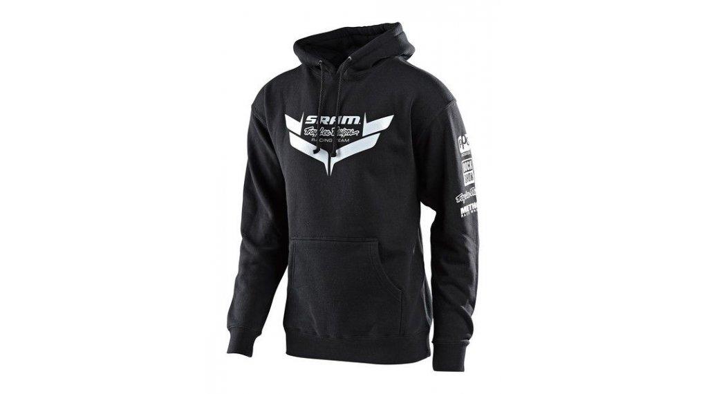 Troy Lee Designs Sram Racing Kapuzenpullover Herren Gr. MD (M) icon black