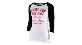 Troy Lee Designs Vintage Speed Shop t-shirt manica lunga da donna . nero/bianco