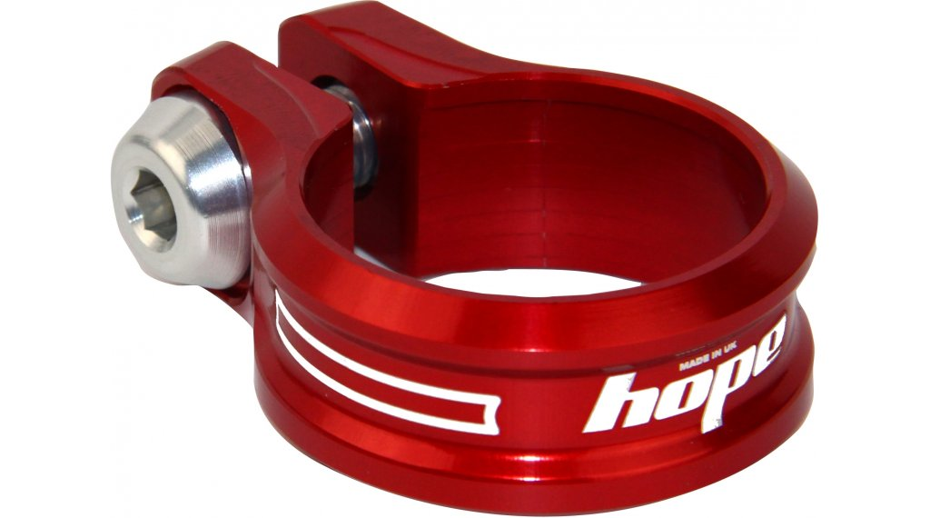 Hope 螺栓 鞍管扣 38,5mm 红色