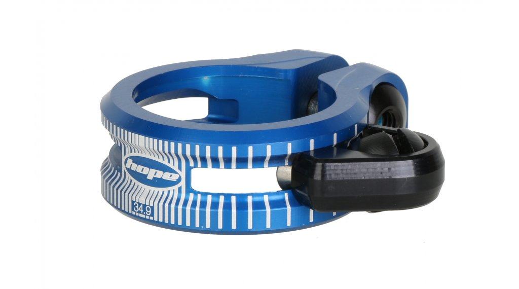 Hope Dropper Bolzen Sattelklemme 34.9mm blue