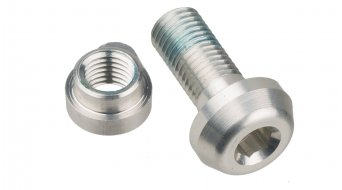 Hope clamping screw for seat clamp silver