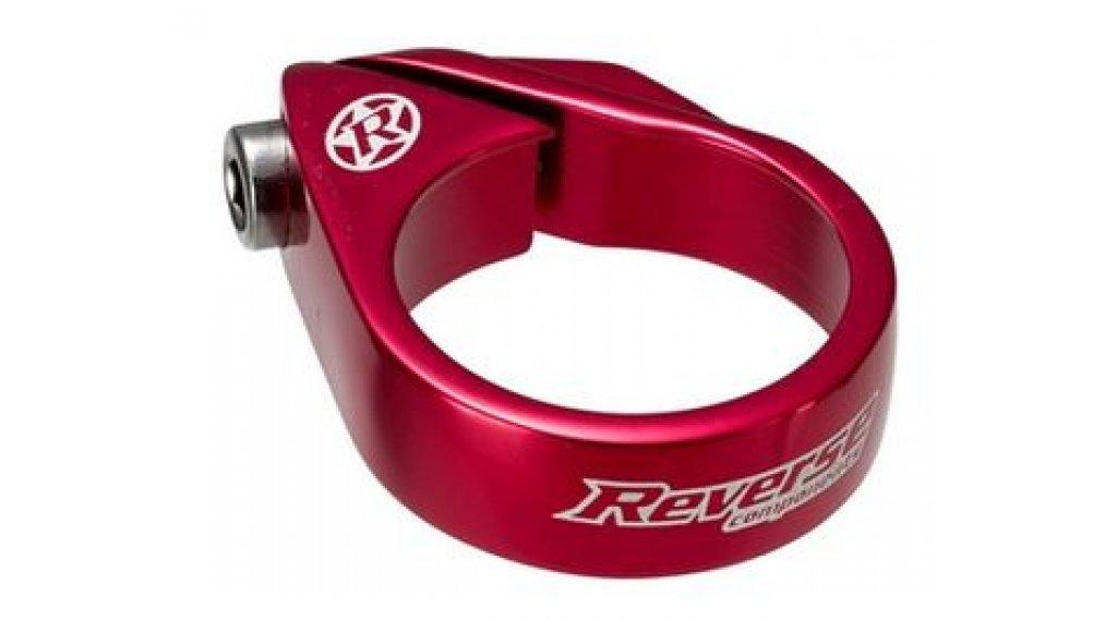 Reverse Bolt Clamp Sattelklemme 31.8mm red