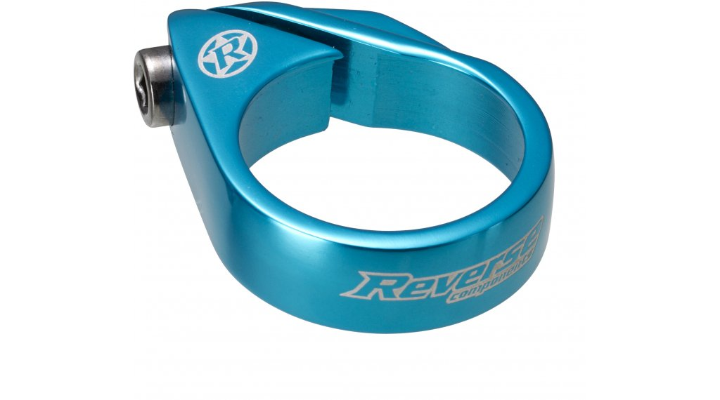 Reverse Bolt Clamp 鞍管扣 34.9mm light blue