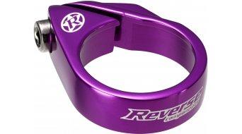 Reverse Bolt Clamp 鞍管扣 34.9mm purple