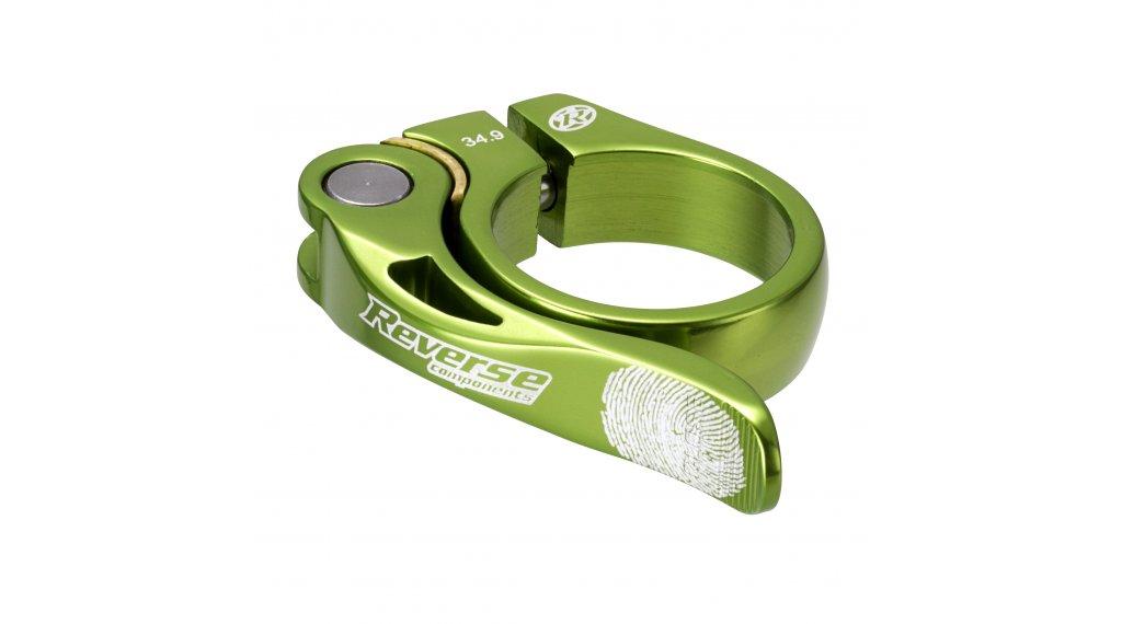 Reverse Components Long Life Sattelklemme 34.9mm green