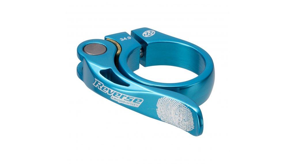 Reverse Components Long Life Sattelklemme 34.9mm light blue