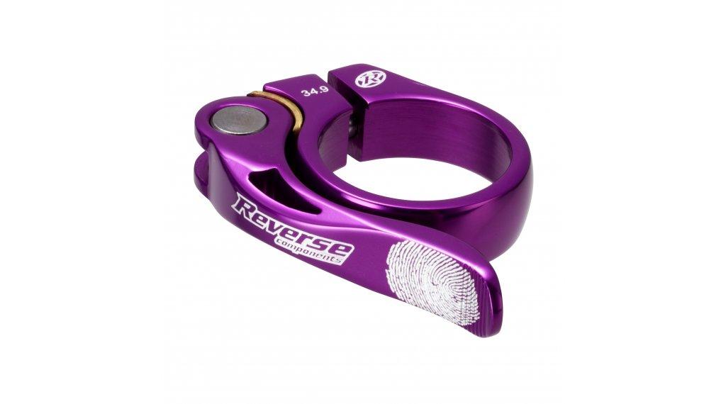 Reverse Long Life Sattelklemme 34.9mm purple