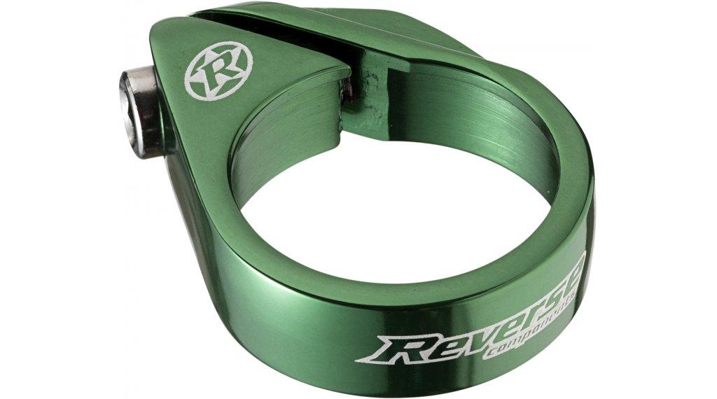 Reverse Bolt Clamp 鞍管扣 34.9mm dark green