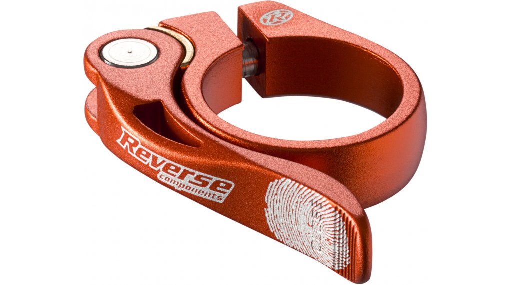 Reverse Long Life Sattelklemme 34.9mm orange