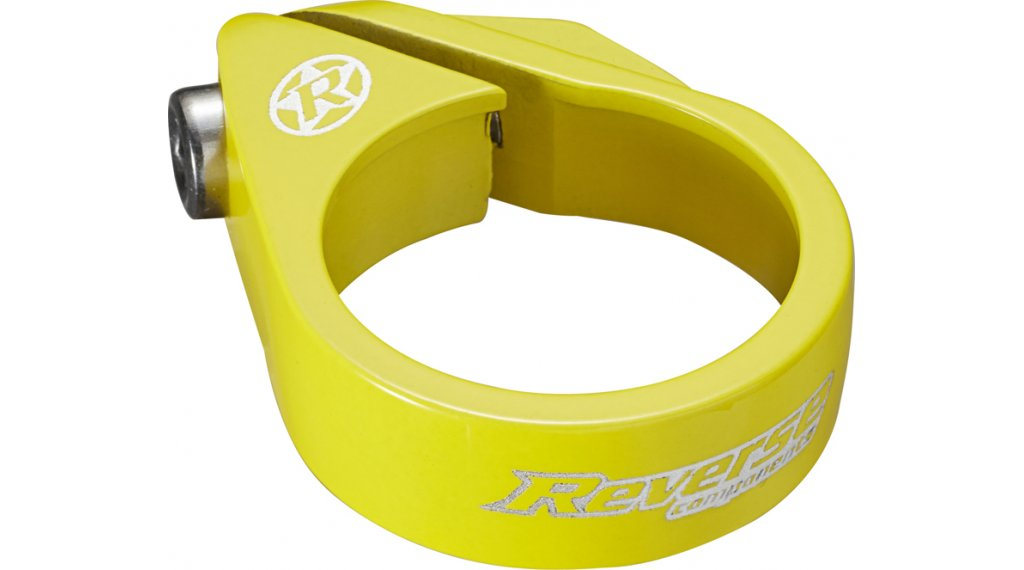 Reverse Bolt Clamp 鞍管扣 34.9mm yellow