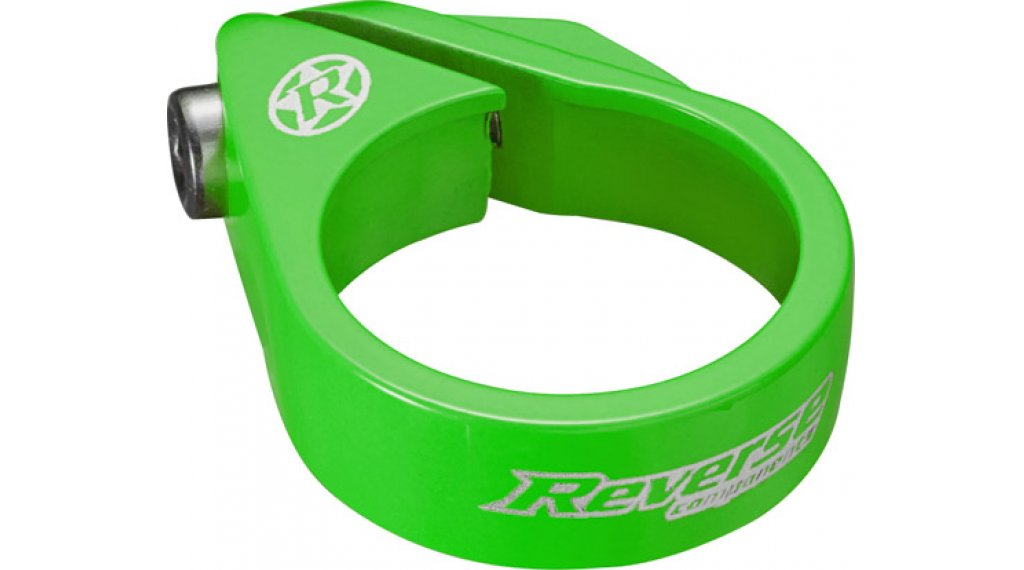 Reverse Bolt Clamp 鞍管扣 34.9mm neon green