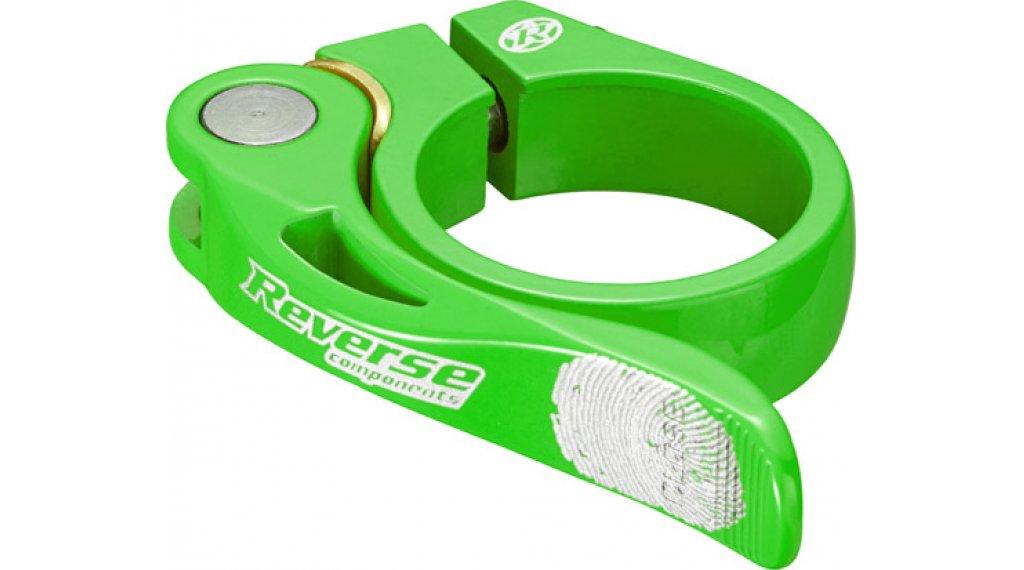 Reverse Components Long Life Sattelklemme 34.9mm neon green