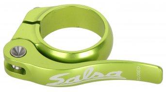 Salsa Flip Lock 鞍管扣 32.0mm 青柠色 green