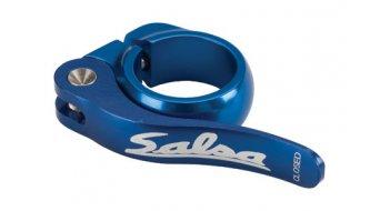 Salsa Flip Lock Sattelklemme 36.4mm blue
