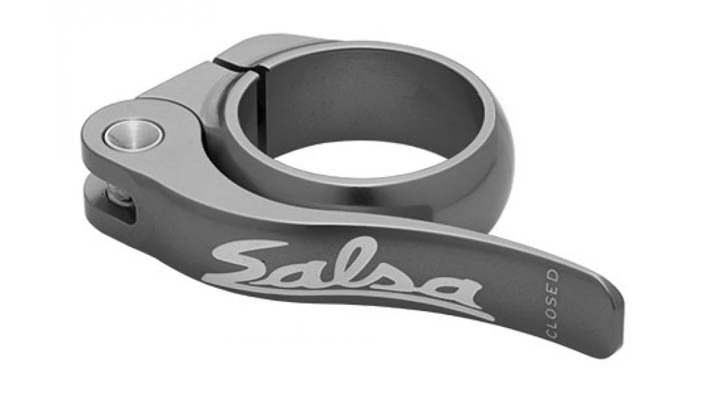 Salsa Flip Lock 鞍管扣 32.0mm pewter