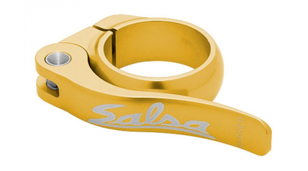 Salsa Flip Lock 鞍管扣 30.0mm 金色