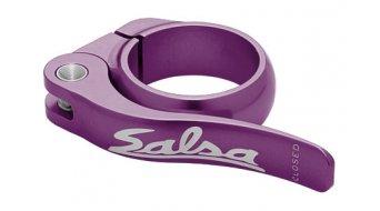 Salsa Flip Lock Sattelklemme 36.4mm purple
