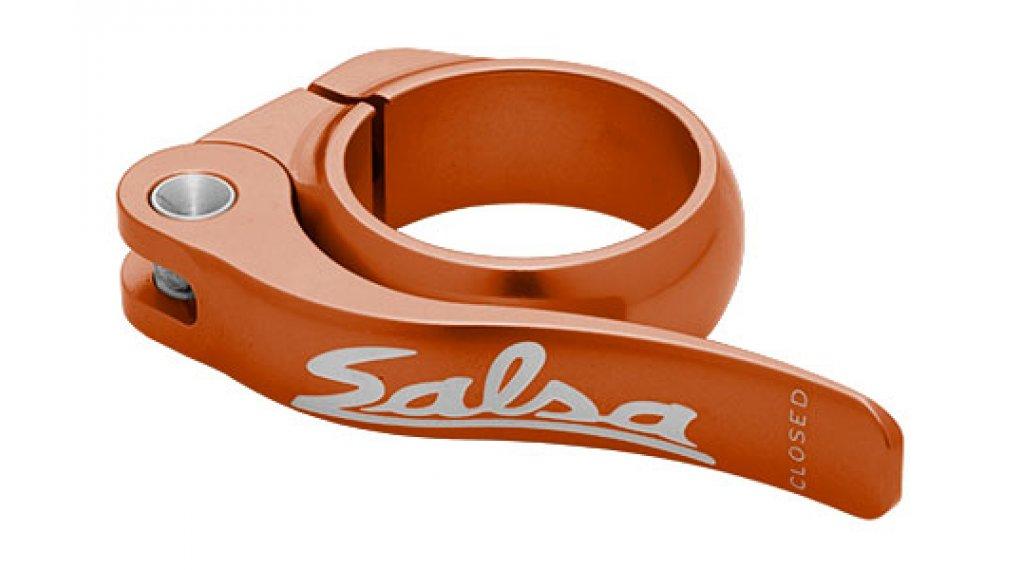 Salsa Flip Lock 鞍管扣 30.0mm 橙色