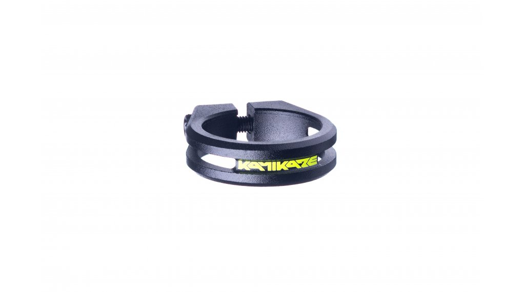 Sixpack Kamikaze Sattelklemme 34.9mm black(neon yellow