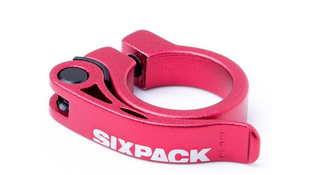 Sixpack Menace Sattelklemme 31.8mm red