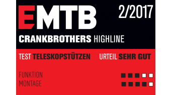 CrankBrothers Highline Vario-Sattelstütze 30.9x465mm 160mm-Verstellbereich black