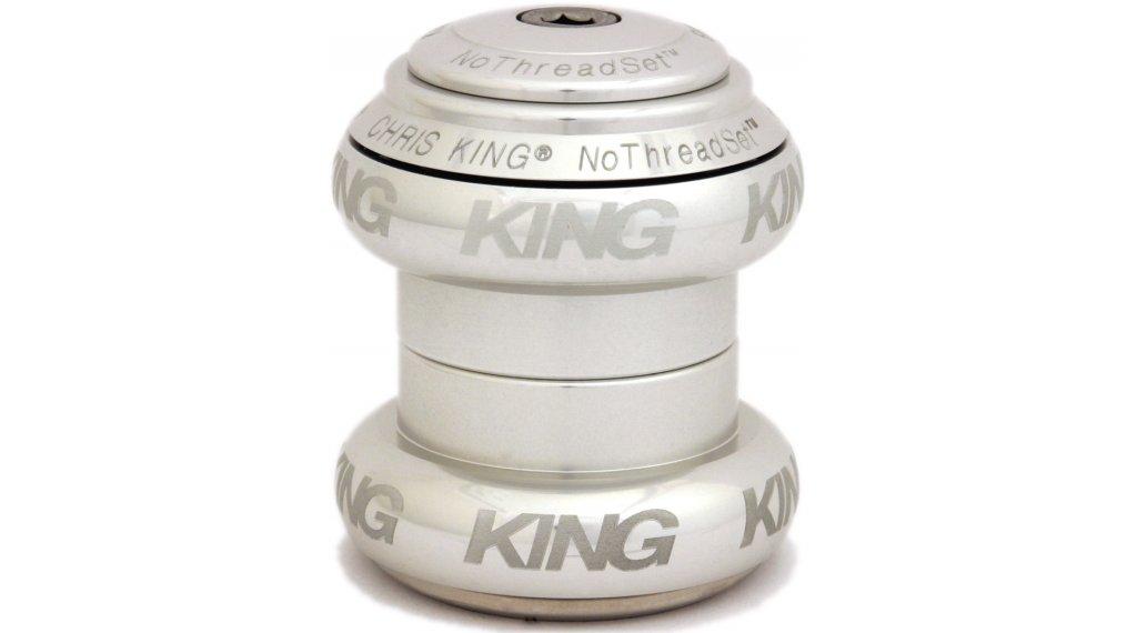 Chris King NoThreadSet Steuersatz Sotto Voce-Logo silver (EC30/25.4   EC30/26)