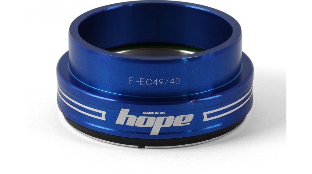 Hope Bottom F casquillo de dirección abajo 1.5 traditional azul (EC49/40)