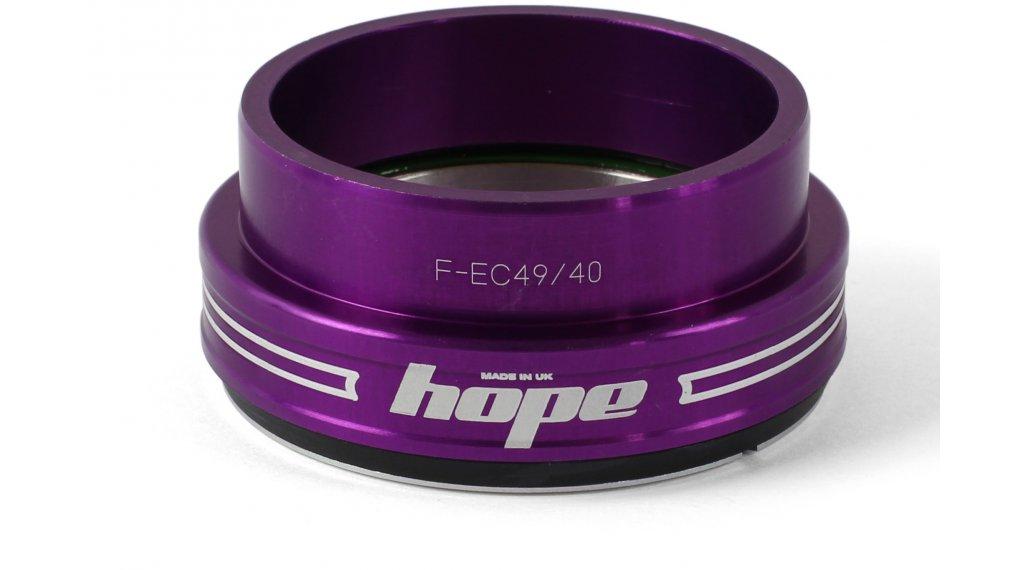 Hope Bottom F casquillo de dirección abajo 1.5 traditional purple (EC49/40)