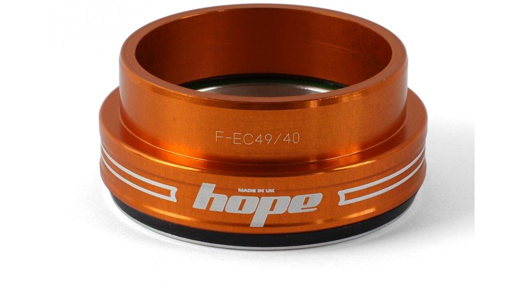 Hope Bottom F casquillo de dirección abajo 1.5 traditional naranja (EC49/40)