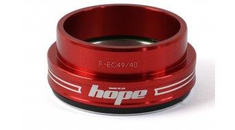 Hope Bottom F casquillo de dirección abajo 1.5 traditional rojo (EC49/40)