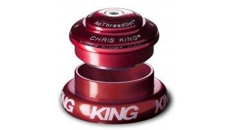Chris King InSet I7 Mixed Tapered GripLock Steuersatz semi-integriert red (ZS44/28.6 | EC44/40)