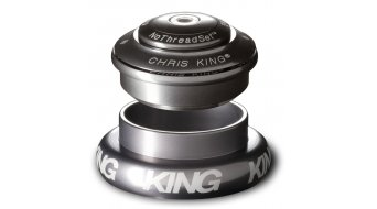 Chris King InSet I7 Mixed Tapered GripLock Steuersatz semi-integriert pewter (ZS44/28.6 | EC44/40)
