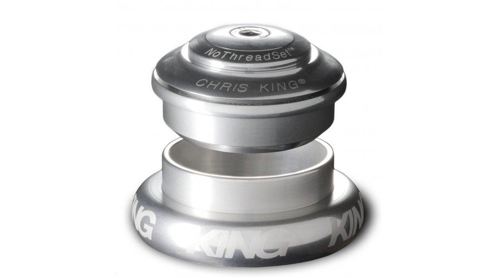 Chris King InSet I7 Mixed Tapered GripLock Steuersatz semi-integriert silver (ZS44/28.6 | EC44/40)