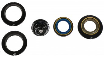 Cane Creek AngleSet Tapered dirección 0.5/1.0/1.5° Kit negro (ZS44/28.6 ZS56/30)