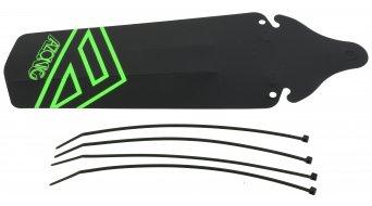 Azonic Splatter sillín Fender guardabarros negro/fluo verde Mod. 2016
