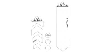 Azonic Frame Guard 车架保护 型号
