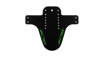 Azonic Splatter Fender Spritzschutz Logo black/neon green